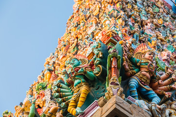 マドゥライのミーナークシ寺院