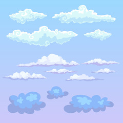 Vector clouds.