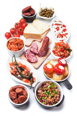 Spanish tapas food