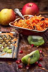 aromatic salad fresh apple