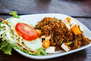 Thailand shrimp fried salted foods