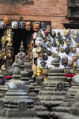 Swayambunath temple in Kathmandu, Nepal