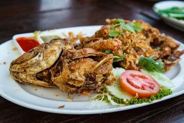 Thailand Food Fish Garlic