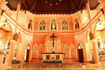 Interior Of  Church - Stock Image