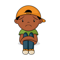 Sad toddler