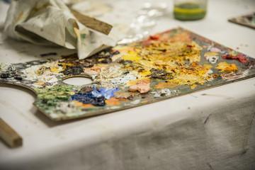 tavolozza del pittore