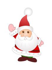 Cute Cartoon Santa