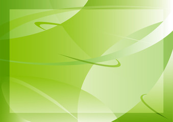 Beautiful green abstract background with gradient