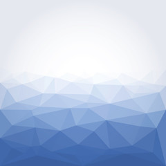 Vector Abstract colorful low poly geometric background