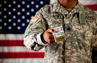 Soldier: Holding Out Cash