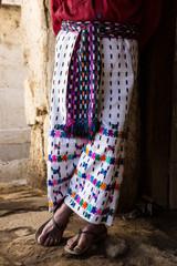 traditional tzutujil maya mens pants