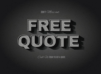 vector free quote sign