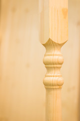Wooden baluster