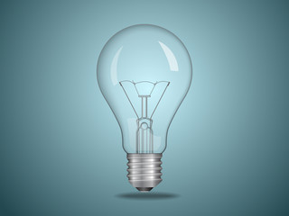 Vector electric bulb. File is in eps10 format.