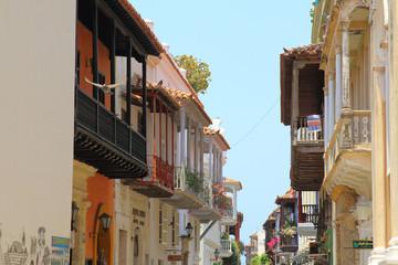 Colonial Balconies, Cartagena de Indias, Colombia