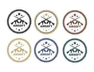 airsoft badges