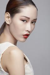 Asian beauty in studio a