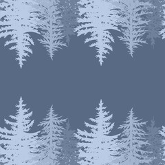 horizontal pine card