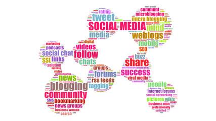 ct10 CloudText - Netzwerk Cloud - social media 3 - g3452