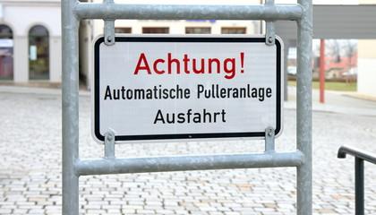 Automatische Pulleranlage