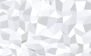 abstract monochrome low poly pattern background