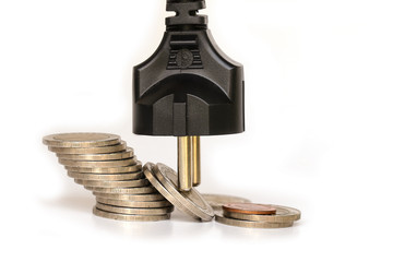 Electricity savings in order to reduce costs.
