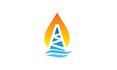 Offshore Rig Logo