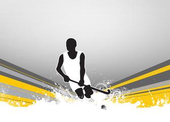 Field hockey background