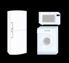Icon set - home appliances