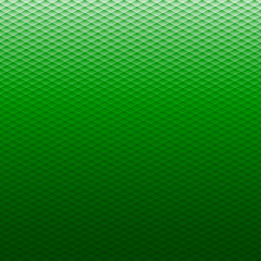 Green Triangle Background, Vector Illustration