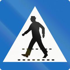 Pedestrian Crossing in Austria