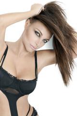 Beau Modèle Féminin Visage Buste Beauté Beauty face Glamour Icon