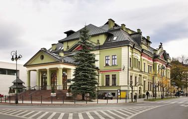 Obraz Building in Nowy Sacz. Poland - fototapety do salonu