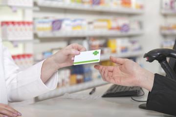 Kartenzahlung in der Apotheke