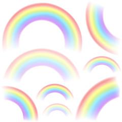 Set of rainbows