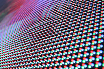 Abstract led screen background