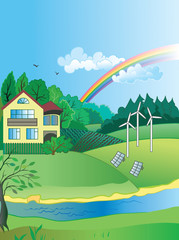 Environmental protection and green energy