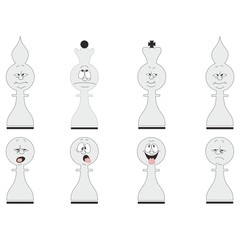 Cartoon chess set 02