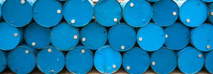 Oil barrels or chemical drums