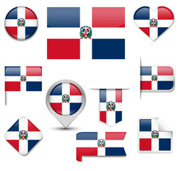 Dominican Republic Flag Collection