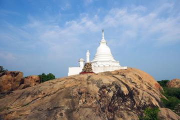 Kirinda stupa temple near Yala in Sri Lanka