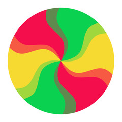 Colorful Spectrum Circle