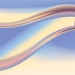 Color Wave. Vector. 4
