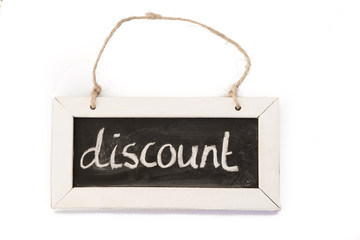blackboard on rope, discount