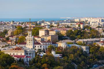 Summer panorama of Sevastopol