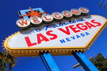 Welcome to Fabulous Las Vegas sign, Nevada