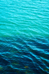 Calm summer sea filling the frame