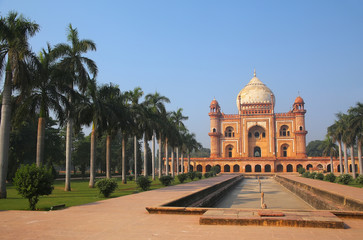 Printed roller blinds Delhi Tomb of Safdarjung in New Delhi, India