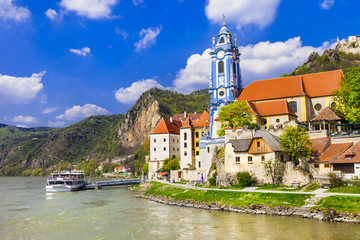 Durnstein near Vienna, lower Austria,  Wachau valley