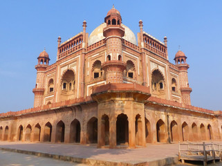 Autocollant pour porte Delhi Tomb of Safdarjung in New Delhi, India
